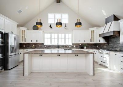 kitchen design custom home